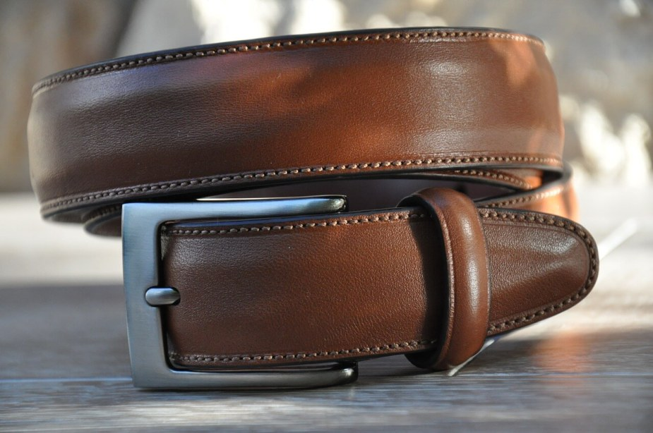 Mens Fall Leather Belt