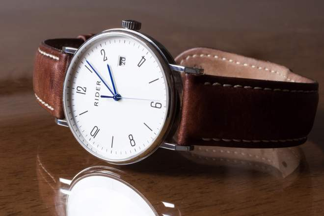 Mens Fall Leather Watch